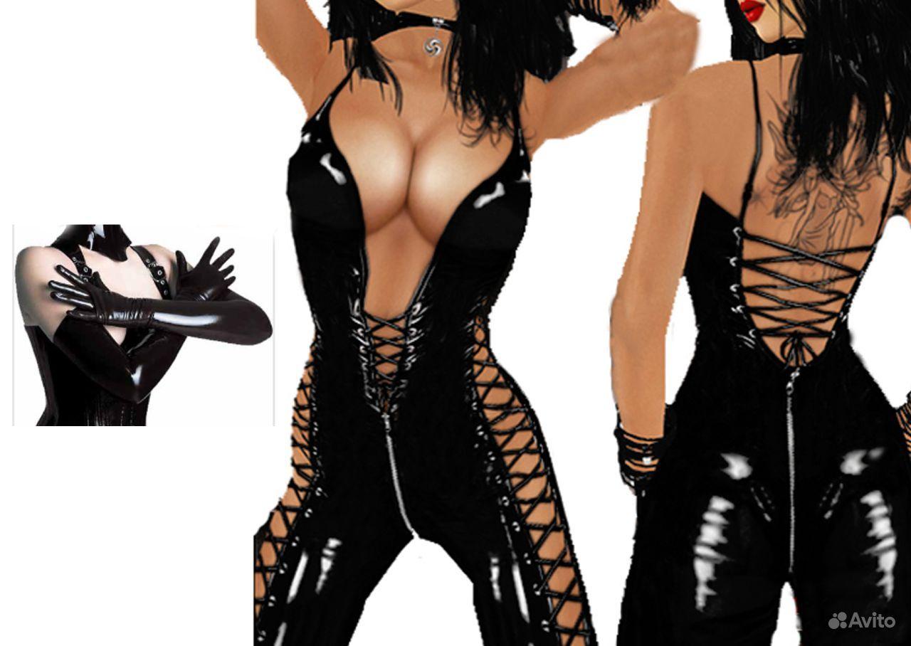 Сексуальная кожаная одежда для женщин 20 фотография