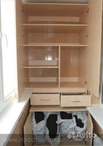 Балконные шкафы 2400x1450x400. - мои статьи - каталог статей.