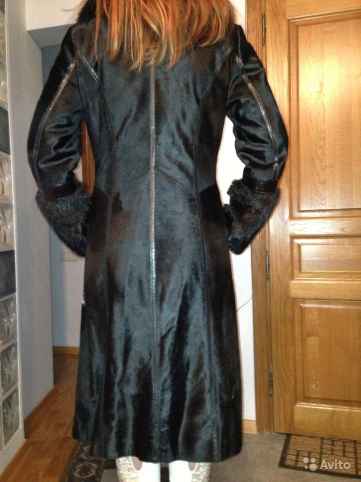 37ffbd09ff1 Объявление о продаже Пальто(шуба) из котика+ песец в Москве на AVITO.