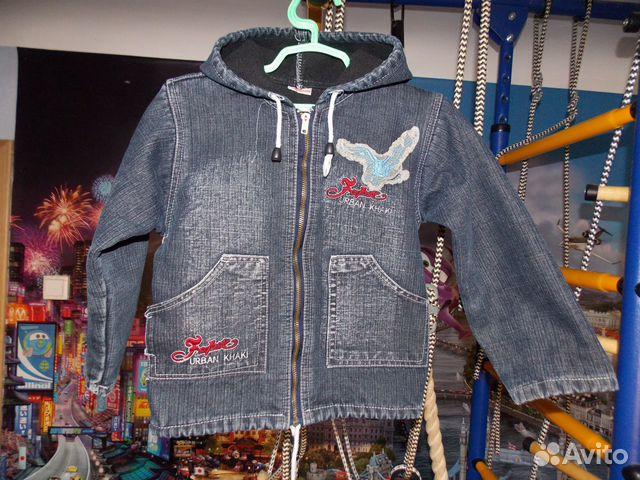 Объявление Джинсовая куртка (3 фотографии). Легкая курточка на