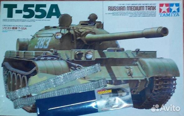 Tamiya - 1:35 scale model set - soviet tank t-55a - #35257 3