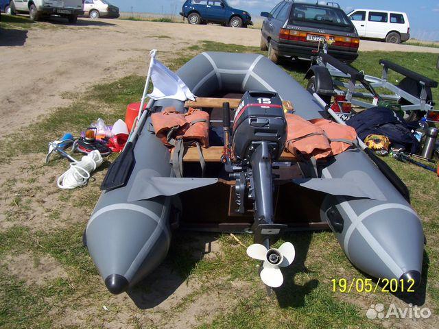 купить лодку с мотором на авито калининград
