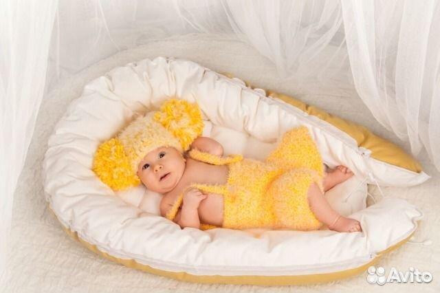 Кокон гнездышко для новорожденных своими руками