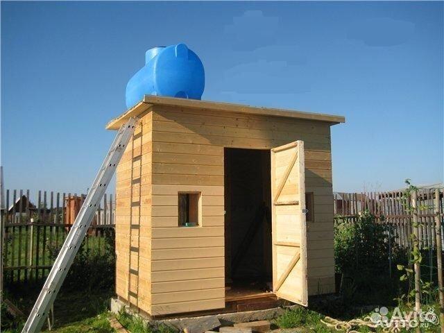 Построить душевую на даче
