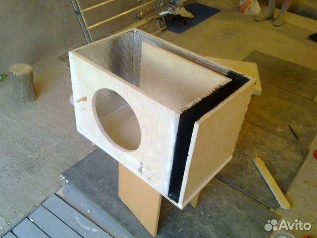Как сделать коробку к сабвуферу
