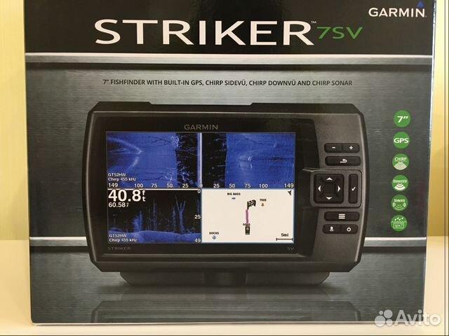 garmin striker 7sv на авито