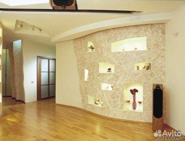 Красивые стены в квартире фото