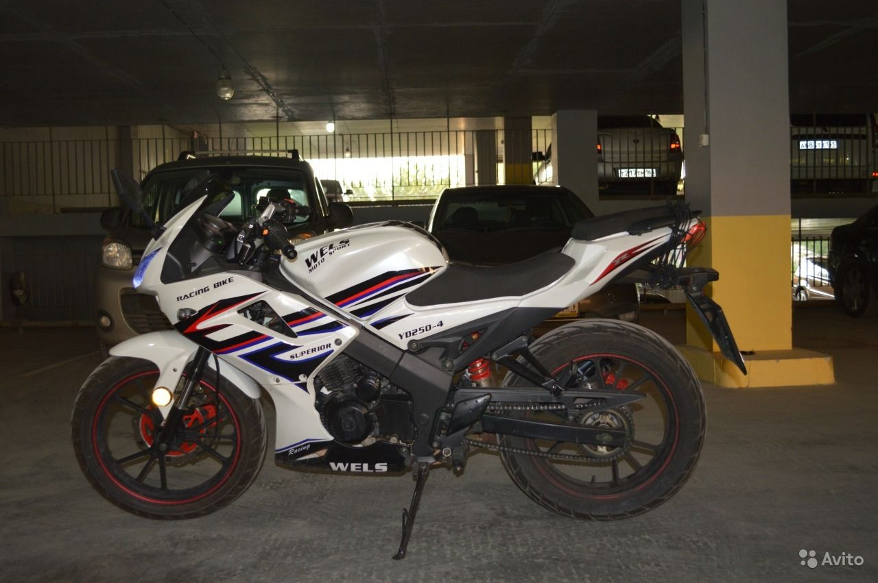 Зеркала для мотоцикла wels superior 250