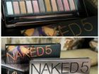 Палитра теней naked5 Urban Decay 12 цветов