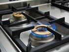 Установка газовой плиты или газовой поверхности