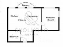 2-к. квартира, 76 м², 4/20 эт.
