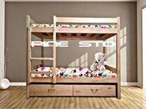 Двухъярусная кровать для детей — Мебель и интерьер в Москве