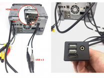 Аукс и USB на шгу — Запчасти и аксессуары в Ульяновске