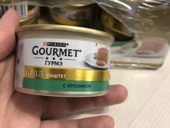 Gourmet паштет с кроликом 23штуки