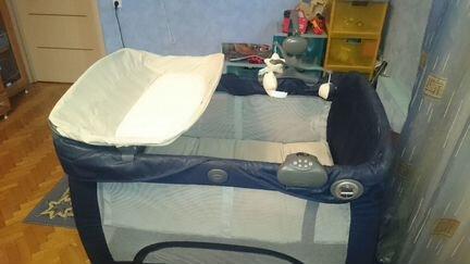 Манеж-кровать Graco Contour Prestige