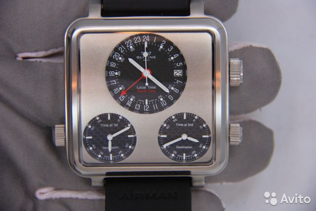Часы Glycine Airman 7 Plaza Mayor / оригинал— фотография №1
