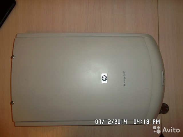 Сканер HP ScanJet 2400— фотография №1