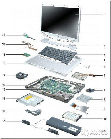 Разборка ноутбука msi ge70 - 2fb