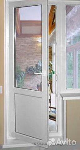 Пластиковая балконная дверь. металлопластиковые балконные дв.