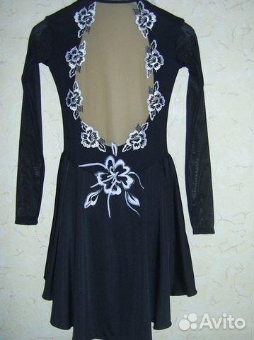 платье для выступлений по фигурному катанию спб
