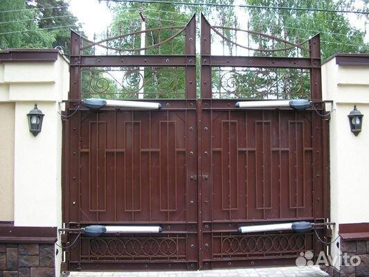 Автоматика на ворота в нальчике распашные ворота с приводом came прайс