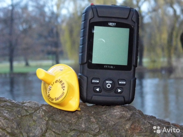 эхолот fish finder ff718 lucky