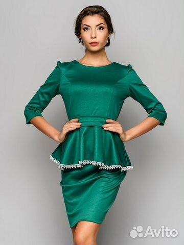 Блузка с баской юбка фото