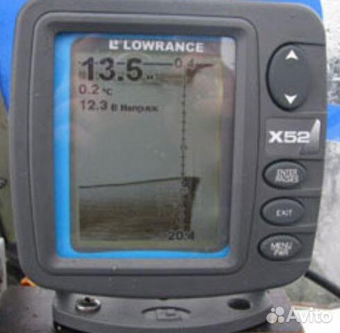 эхолот x52 инструкция