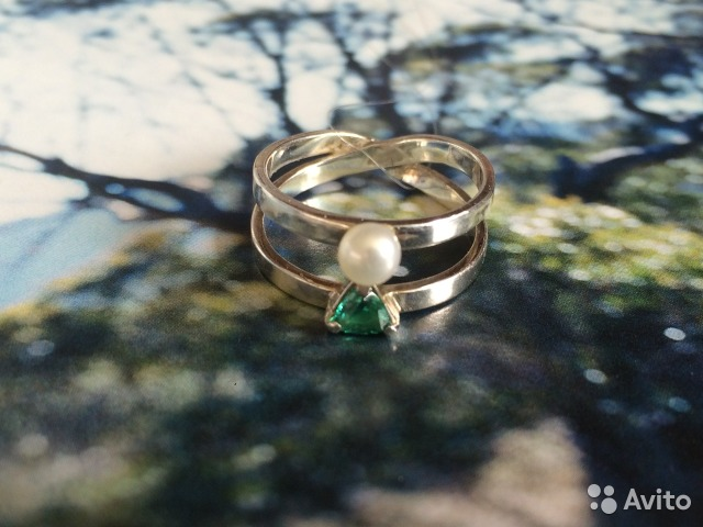кольцо восьмерка