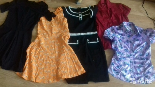 Авито одежда женская платья