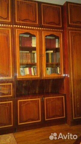 Книжный шкаф/сервиз с антресолью купить в республике крым на.