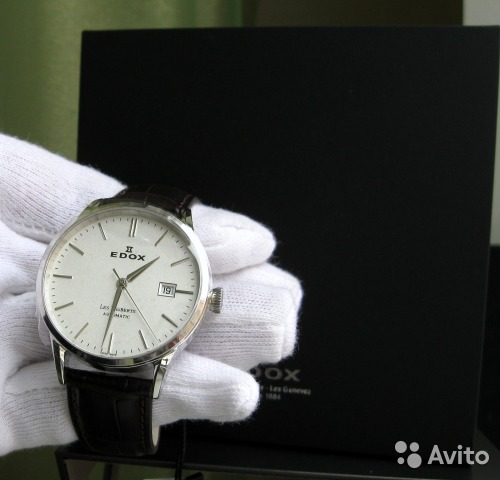 76200990 Edox Les Vauberts Automatic 80081-3-AIN купить в Рязанской области ...