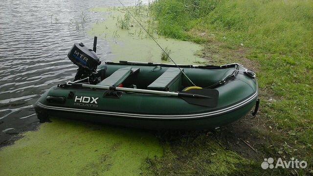 куплю лодку hdx бу с мотором