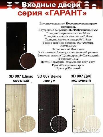 двери гарант входные металлические