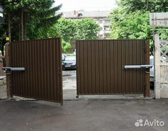 Распашные ворота комплект купить раздвижные ворота на роликах купить комплектующие