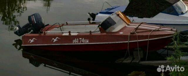 куплю моторную лодку обь б у с ценой