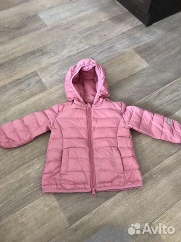 Куртка play today на девочку, размер 80