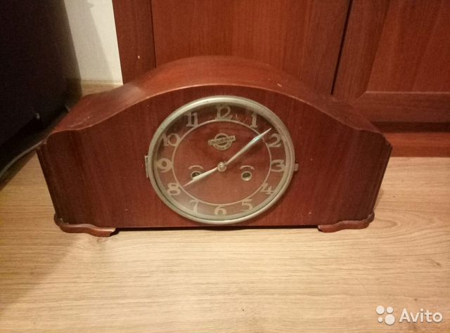 1fb7c0c4 Настольные часы 1956 года. Орловский часовой завод | Festima.Ru ...