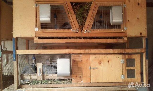 Käfige für Kaninchen