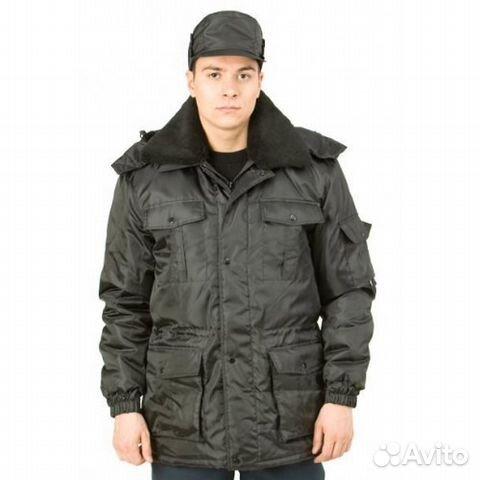 Куртка охранника 170 170— фотография №1. Адрес  Ленинградская область ... bf16b4b88da