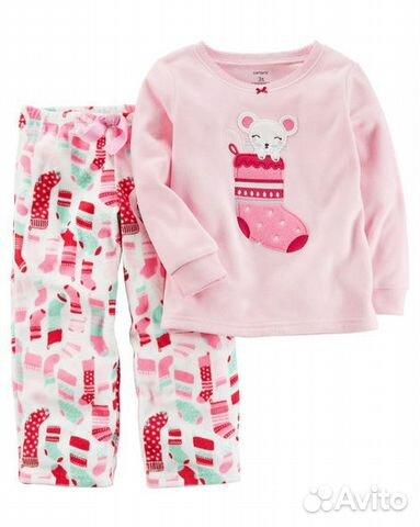 Флисовые пижамы Carters(Картерс)  413228f2b3daa
