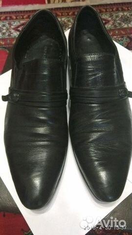 Туфли кожаные мужские 89301297093 купить 2