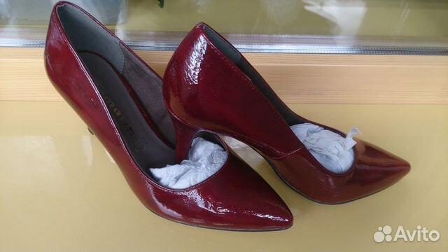 5073735f9 Продам новые туфли tamaris р.38, Бордовые и Черные | Festima.Ru ...