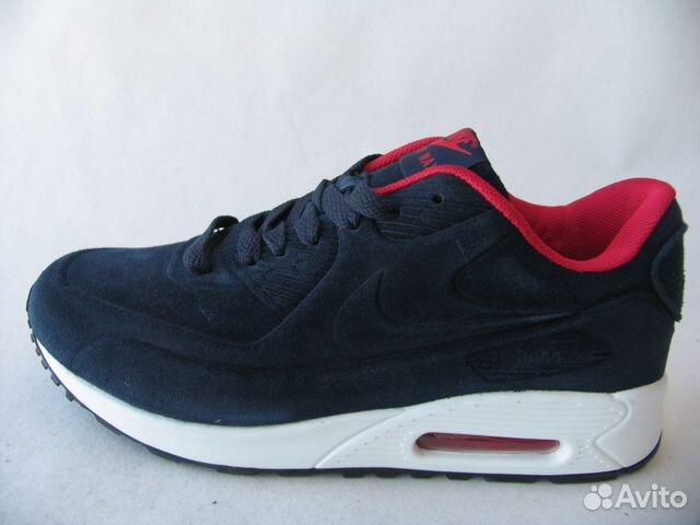 65e6378f9ea6 Кроссовки Nike Air Max 90 VT Тем.Синий Крас.Вн.46 купить в Санкт ...
