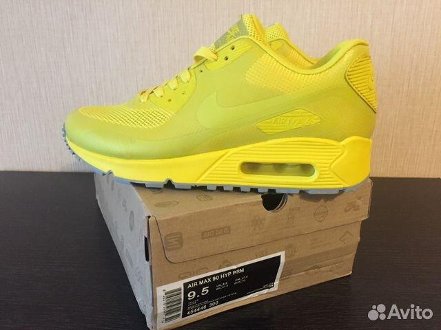 aa962f09 Кроссовки Nike Air Max 90 HYP Yellow купить в Новосибирской области ...
