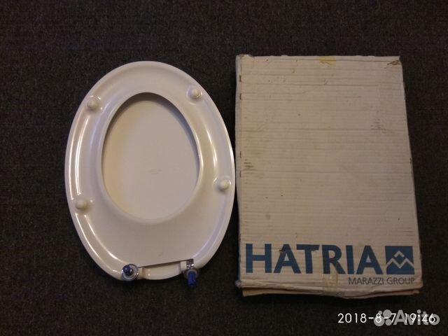 Продам крышку унитаза хатрия форма капля
