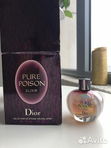Pure Poison Elixir Dior Eau De Parfum Intense купить в санкт