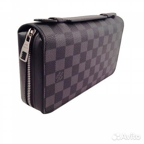 16eedc853c05 Мужской бумажник Louis Vuitton Zippy Xl арт.41503 купить в Москве на ...