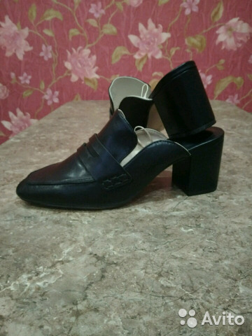 Туфли мюли изоражения