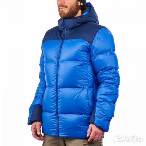 757ae56b06fa5 Пуховик мужской синий forclaz Topwarm (Декатлон) купить в Москве на ...